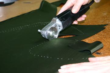 Elektrische Schneidemesser in der Textilindustrie