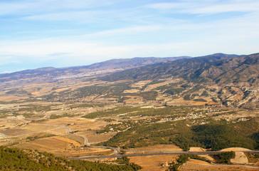autovia Alicante Alcoy pasando por Tibi