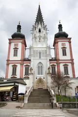 Mariazell - west portal of basilica