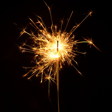 Ignited Sparkler