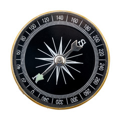 Compass, isolated