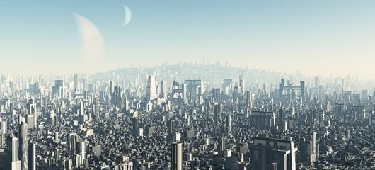Futuristic Cityscape - 2
