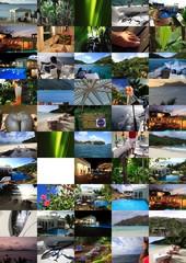 seychelles desktop collage