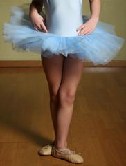 giovane ballerina con tutù