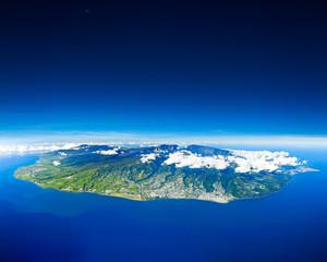 Obraz ile de la Réunion - fototapety do salonu