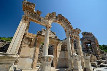 Le temple d'Hadrien à Ephèse