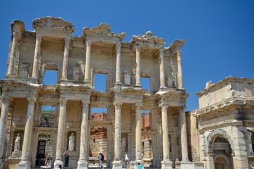 La bibliothèque de Celsus dans Ephèse