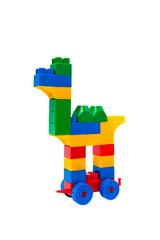 Camel from toy bricks