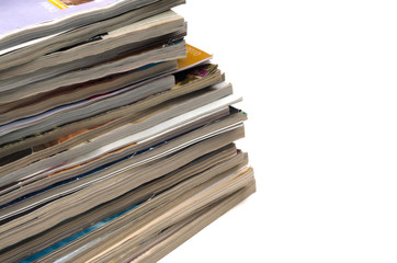 Recycle old journals & magazines
