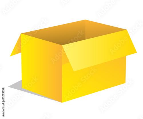 paket p ckchen lieferung box karton gelb 3 stockfotos und lizenzfreie vektoren auf. Black Bedroom Furniture Sets. Home Design Ideas