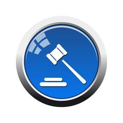 Botón glossy  justicia