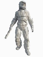 Ice Warrior Space Marine
