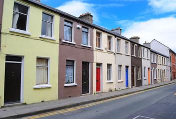 Row Houses in Dublin, Ireland