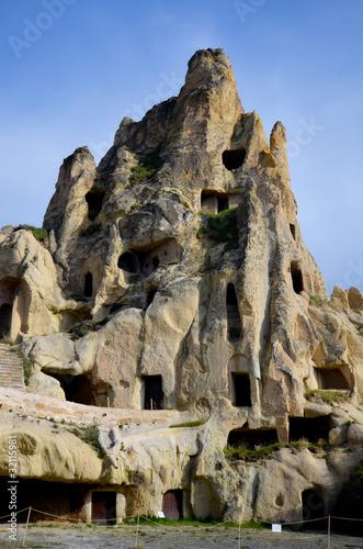 Maison troglodyte en cappadoce photo libre de droits sur for Acheter maison troglodyte