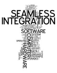 "Word Cloud ""Seamless Integration"""