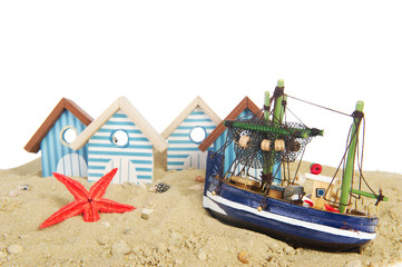 Little fisherman village