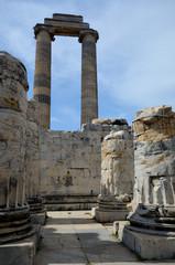 Les allées du temple d'Apollon à Didymes