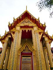 Wat Ratchabophit in Bangkok , Thailand