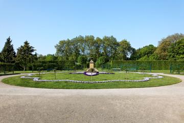 Park Schloss Rheda-Wiedenbrück bei Gütersloh