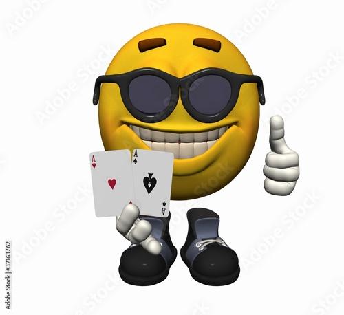 Bildergebnis für poker smiley