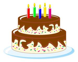 cake in birthday