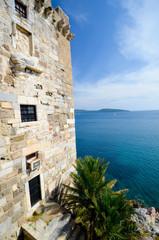 Une tour du château de Bodrum