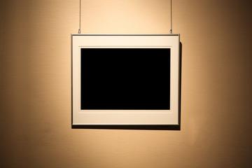 single empty frame