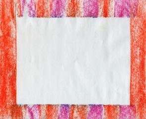 Frame pastel stick background