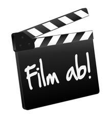 Film ab - Filmklappe