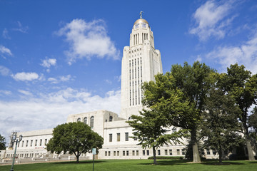 Lincoln, Nebraska - State Capitol Building Wall mural