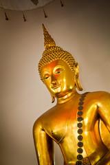 buddha statue half