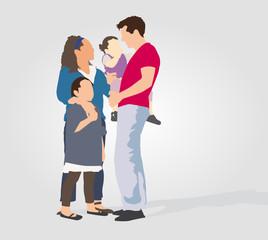 Famille 2 enfants