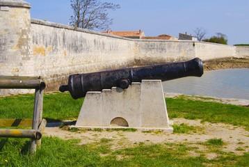 Île d'Aix : canon