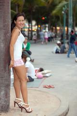 asian prostitute in Pattaya, Thailand