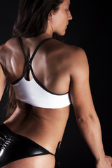 Picture of sportswoman