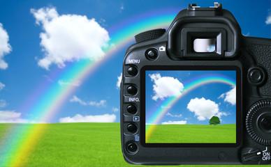 Digital camera capturing