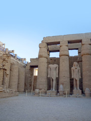 The Temple Complex at Luxor in Egypt