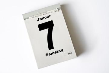 7. Januar 2012