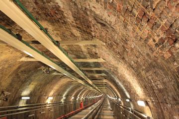 Historical Subway in Pera, Istanbul.