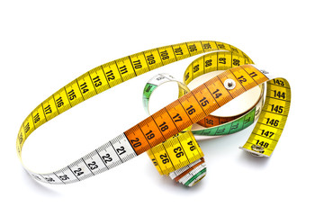 Colorful tape measure