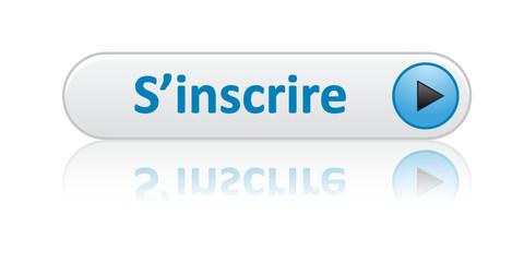 Bouton Web S'INSCRIRE (inscription je m'inscris abonnement bleu)