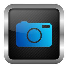 blue icon set - camera