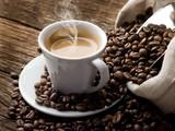 Ein Kaffeeliebhaber zu Beginn
