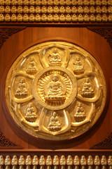 Flower Wheel of Buddha