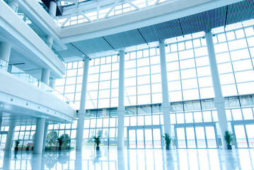office building hall