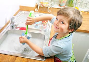 Ich mach den Abwasch
