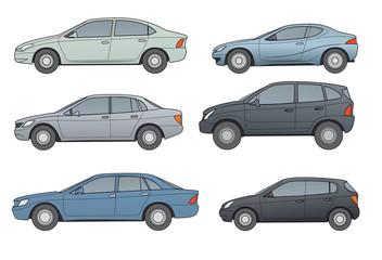 AUTOS-Oberklasse, Mittelklasse, Sportcoupe, Geländewagen, Komp