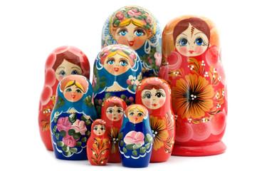 wooden doll matrioshka