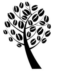 vector coffee tree