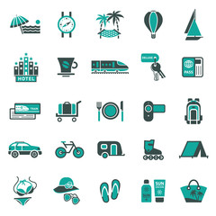 Signs. Vacation, Travel & Recreation. Second set icons.jpg